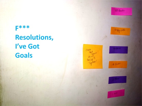 Strike Out Resolutions I Have Got Goals